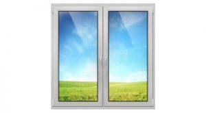 двухстворчатое окно ПВХ в Томске и Северске