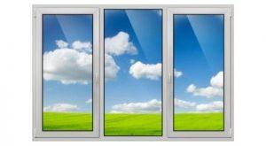 трёхстворчатое окно ПВХ в Томске и Северске